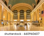 grand central terminal empty at ... | Shutterstock . vector #660960607
