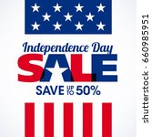 usa independence day sale... | Shutterstock .eps vector #660985951