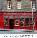 Christmas Shop. On Edinburgh...