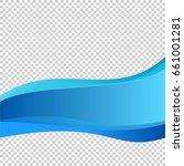 elements design. abstract wavy... | Shutterstock .eps vector #661001281
