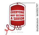 be a donor a creative motivate... | Shutterstock .eps vector #661001797