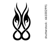 tribal tattoos. tattoo tribal... | Shutterstock .eps vector #661002991
