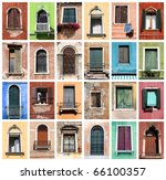 Colorful Collage Made Of...