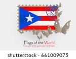 vector flag measurements with... | Shutterstock .eps vector #661009075