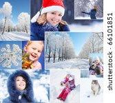 winter collage   Shutterstock . vector #66101851