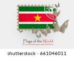 vector flag measurements with... | Shutterstock .eps vector #661046011