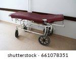 vintage hospital bed | Shutterstock . vector #661078351