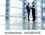 portrait of contemporary...   Shutterstock . vector #661081435