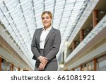 portrait of confident young... | Shutterstock . vector #661081921