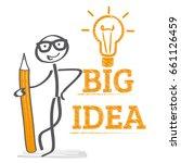 big idea concept vector... | Shutterstock .eps vector #661126459