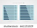 0 10 15 20 25 30 35 40 45 50 55 ... | Shutterstock .eps vector #661151029