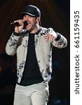 Small photo of AUSTIN, TX - APRIL 30: Sam Hunt performs during the 2016 iHeartCountry Festival at The Frank Erwin Center on April 30, 2016 in Austin, Texas.