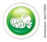 vegetables icon | Shutterstock .eps vector #661170304