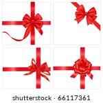 vector illustration. set of red ...   Shutterstock .eps vector #66117361