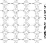 vector seamless pattern. modern ...   Shutterstock .eps vector #661205734