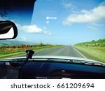 highway with  blue sky seen...   Shutterstock . vector #661209694