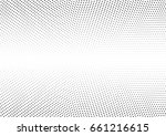 abstract halftone dotted... | Shutterstock .eps vector #661216615