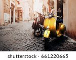rome  italy   july 8  2014  two ... | Shutterstock . vector #661220665