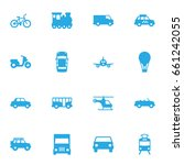 set of 16 shipping icons set... | Shutterstock .eps vector #661242055