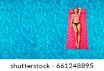 summer vacation. enjoying... | Shutterstock . vector #661248895