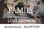 family parentage home love... | Shutterstock . vector #661297249
