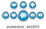 playback buttons   Shutterstock . vector #6613072