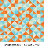 abstract retro pattern of...   Shutterstock .eps vector #661352749