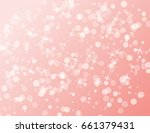 abstract sparkling stars... | Shutterstock . vector #661379431