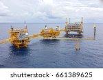 oil gas platform | Shutterstock . vector #661389625