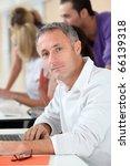 adult man attending business...   Shutterstock . vector #66139318