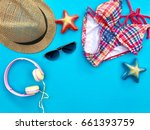 the concept of accessories for...   Shutterstock . vector #661393759