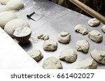 bread dough  bread making... | Shutterstock . vector #661402027