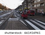 old streets of amsterdam ... | Shutterstock . vector #661416961
