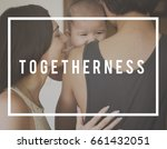 family parentage home love... | Shutterstock . vector #661432051