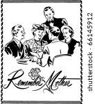 remember mother   ad header  ... | Shutterstock .eps vector #66145912