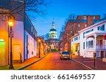 Annapolis  Maryland  Usa...