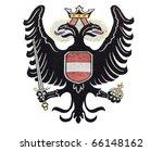 emblem of old austrian monarchy | Shutterstock . vector #66148162