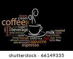 coffee concept word cloud | Shutterstock .eps vector #66149335