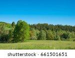 german countryside landscape in ... | Shutterstock . vector #661501651