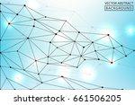 geometric vector. concept of... | Shutterstock .eps vector #661506205