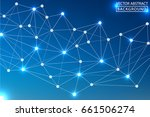 geometric vector. concept of... | Shutterstock .eps vector #661506274