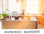 interior of contemporary kitchen | Shutterstock . vector #661532455