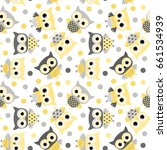 Cute Animal Seamless Pattern...