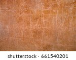 scratched old dirty wall with... | Shutterstock . vector #661540201