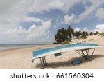 zumbi beach.  the area is great ... | Shutterstock . vector #661560304