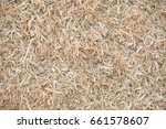 bedding for the cattle. natural ... | Shutterstock . vector #661578607