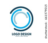 digital circle logo | Shutterstock .eps vector #661579015