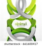modern 3d geometrical style...   Shutterstock .eps vector #661600417