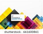 corporate vector business... | Shutterstock .eps vector #661600861