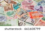 variety of the african banknotes | Shutterstock . vector #661608799